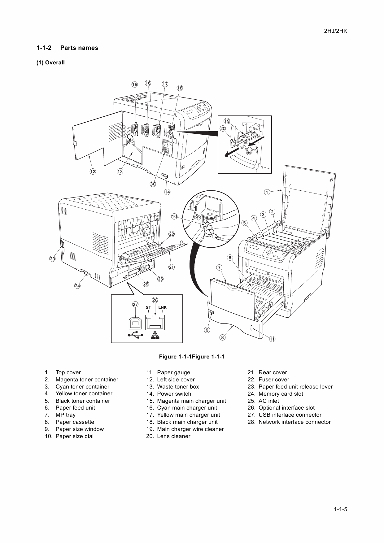 KYOCERA ColorLaserPrinter FS-C5015N C5025N Service Manual